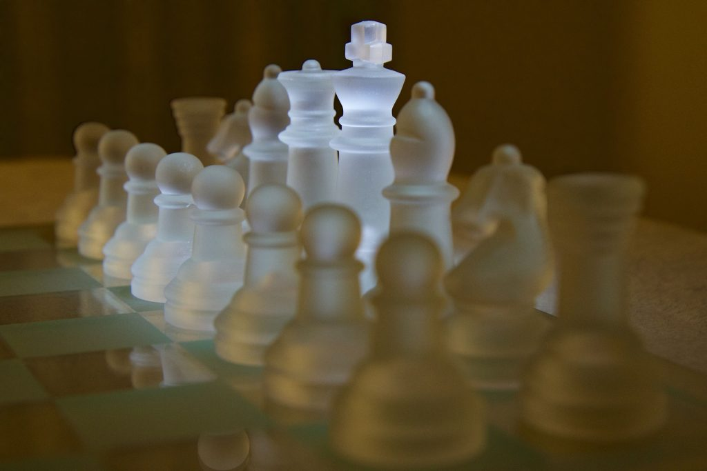 Chess pieces - team